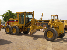 Earthmoving repairs